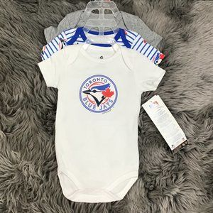 Snugabye | Kids One Piece Set | 3 Pack | Blue Jays